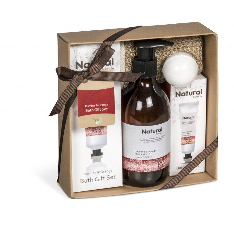 Ryis Jasmine And Orange Bath Gift Set